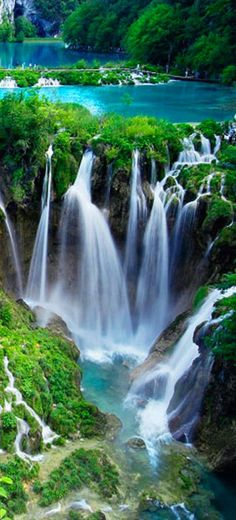 Plitvice Lakes National Park in central Croatia ~ photo:Jack Brauer~ Mountain Photography!