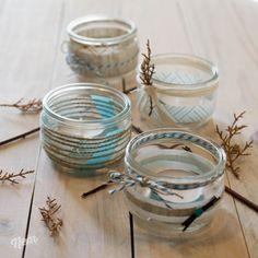 DIY photophore en verre