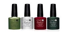 The holiday season will be here before we know it! Get in the spirit of the season early with NEW Limited Edition CND Shellac™ shades in Frosted Glen, Ice Vapor, Scarlet Letter and Serene Green. Available now in salons worldwide! https://www.cnd.com/promotions/cnd-shellac-holiday-shades