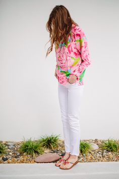 sarah tucker : Lilly Pulitzer Spring 2014 Sneak Peek. I need that top....