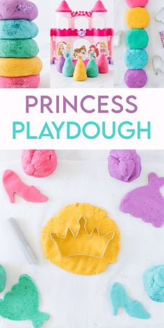 Princess Playdough is a fun playdough activity any little princess with love.  Use princess related cookie cutters for fun play or take it a step further and make our sweet Disney princesses. Playdough Activities, Fun Activities For Kids, Disney Crafts For Kids, Vegan Kitchen, Kitchen Recipes, Princess Cookies, Fun Diy Crafts, Having A Blast, Business For Kids