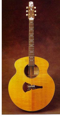Acoustic guitar built for Joni Mitchell by Steve Klein in 1977