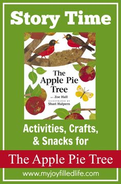 The Apple Pie Tree - Story Time Activities