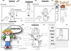 Word Search: Cinderella | Speakaboos Worksheets | Cinderella ...