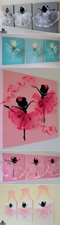 La idea de una bailarina preciosa mural