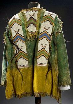 Sioux War Shirt Beaded Hide