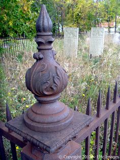 So many old cemeteries are not maintained by anyone ...
