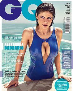 Alexandra Daddario for GQ Spain July/August 2017