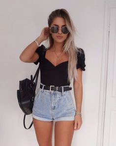 casual outfits for winter ; casual outfits for women ; casual outfits for work ; casual outfits for school ; Trend Fashion, 2020 Fashion Trends, Summer Fashion Outfits, Summer Outfits Women, Fashion Fashion, Spring Outfits, Summer Fashions, Fashion Teens, Fashion Inspiration
