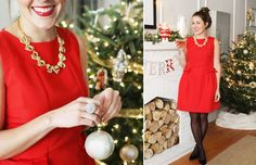Stunning Christmas outfit!