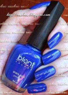 esmalte Blant arara azul