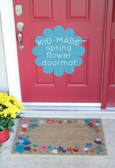 A special DIY project that brings your little ones into home decor.