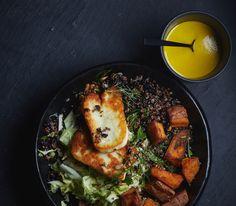 Turmeric-Tahini Dressing for grain bowls or kale
