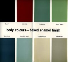 vintage painted vw's | TheSamba.com :: VW Archives - 1963 VW Paint and Upholstery Colors ...