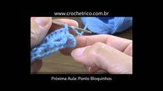 Crochê para Canhotas - Guia de Pontos - Aula 43 - Ponto Leque em Baixo R...