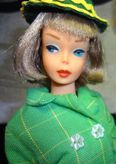 Celtic American Girl wearing Japanese Exclusive