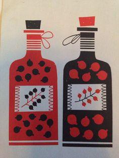 """""""Punainen ja musta"""" design Kristiina Haapalainen & Sami Vähä-Aho"""