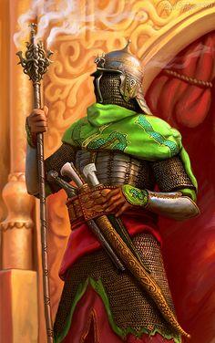 Palace guard by CG-Zander.deviantart.com on @deviantART