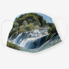 Waterfall in Krka National Park - Dalmatia,Croatia Cloth Face Mask   international travel hacks, china travel tips, cruise travel tips #traveltips #travelinggram #travellist, 4th of july party Cruise Travel, Travel List, Krka National Park, National Parks, Dalmatia Croatia, Finland Travel, 4th Of July Party, China Travel, Winter Travel