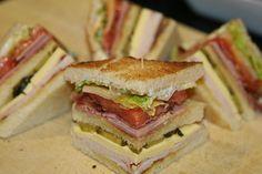 Sándwich Club House | Recetas faciles, Videos de Cocina | SaborContinental.com