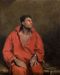 John Philip Simpson The Captive Slave 1827 Painting of African American slave during the abolitionist movement in Great Britain. Oil On Canvas, Canvas Prints, Art Prints, Big Canvas, Chicago Art, Chicago Illinois, English Artists, Art Institute Of Chicago, Modern Artists