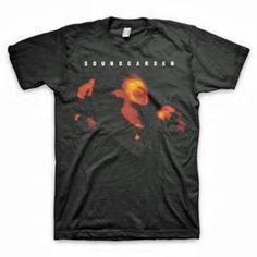 Soundgarden Saw Logo Rock Pop Punk Music Grunge Adult Mens T Tee Shirt S-2Xl