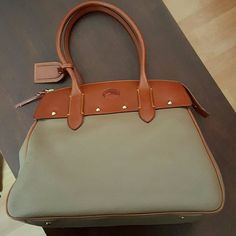Dooney Bourke Wilson Bag Deep tan neutral color, great for year round use.  Great quality leather used once, this bag will last a lifetime. Dooney & Bourke Bags Satchels