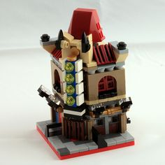 Lego Mocs Micro ~ Mini Palace Cinema Front | by O0ger