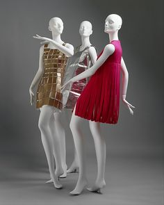 Dresses Retailer: Waste Basket Boutique (American) Date: 1966 Culture: American Medium: plastic