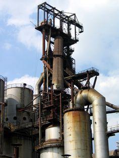 Usine de Belval-Ouest, abandonnée par Arcelor