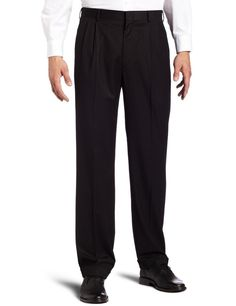 Dockers Mens Dress Pants Pleated Cuffed 4 packets black striped size NEW Men's Suit Separates, Mens Dress Pants, Women's Pants, Slacks, Black Stripes, Mens Suits, Black Pants, Black Men, Pants For Women