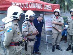 CONSTRUINDO COMUNIDADES RESILIENTES: Corpo de Bombeiros faz Operação Simulada no Corcov...