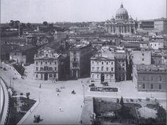 Spina e Piazza Pia vista da Castello.