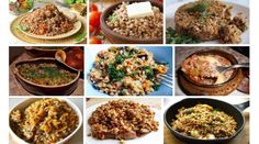 9 вкуснейших блюд с гречкой Cooking Recipes, Healthy Recipes, Cooking Together, Russian Recipes, Fried Rice, Grains, Good Food, Food And Drink, Soup