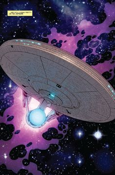"The Enterprise from ""Star Trek"" (the IDW comic)!!!"