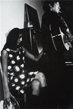 Joan Baez and Bob Dylan in Cambridge, MA 1964