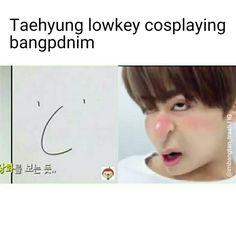 Taehyung #taehyungmemes #btsmemes