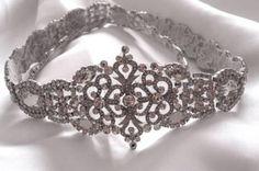 handmade sash on etsy for wedding gown