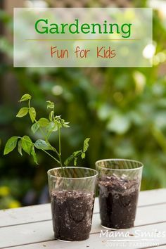 Gardening Fun for Kids! A favorite picture book to enjoy and fun gardening activities for children.
