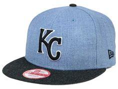 size 40 f217b 8eeca Kansas City Royals New Era MLB Heather Action 9FIFTY Snapback Cap
