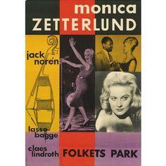 MONICA ZETTERLUND / モニカ・ゼタールンド / Poster Folkets Park(70X100 cm)  / ポスター・フォルケッツ・パーク(70X100 cm)