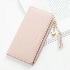 Wallets For Women Cute, Cute Wallets, Wallets For Women Leather, Leather Tassel, Pu Leather, Womens Purses, Long Wallet, Clutch Wallet, Fashion Handbags