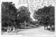 Møre og Romsdal fylke Kristiansund Parken. Brukt 1907. Utg Aass & Knudtsen