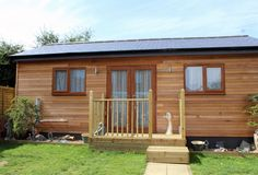 Granny Annexe completed in summer 2013 in Cambridgeshire, UK. Designed and built by Granny Annexe www.grannyannexe.com