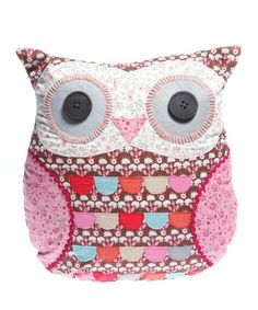 Take a look at this Brown Owl Cushion by Sass and Belle on #zulily today!