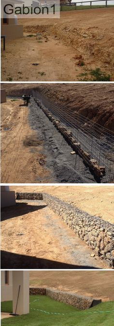 57 Most Popular gabion retaining wall garden