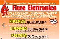Fiera dell'Elettronica - Electronics Fair, Oct. 18-19, 2014, 9:30 a.m.-7 p.m., in Florence, ObiHall, Via Fabrizio De Andrè; entrance fee: €6.