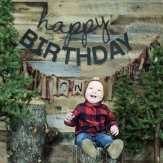 One year baby boy birthday pictures