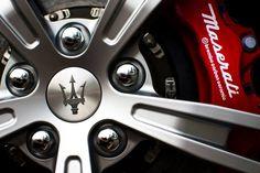 Maserati mag wheels and brembo brakes