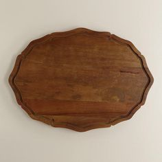 Scalloped Trencher Cutting Board at Cost Plus World Market >> #WorldMarket Thanksgiving Entertaining #Holiday